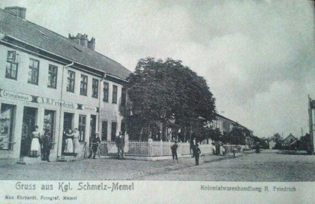 Klaip Da Iki 1945 M Pietin Klaip Dos Miesto Dalis