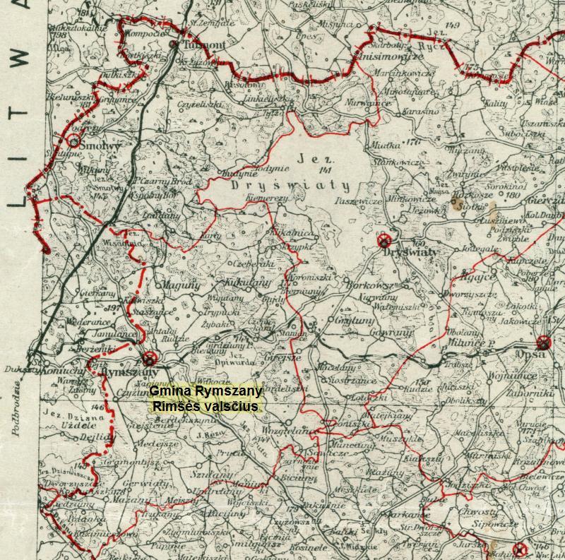 ignalinos rajonas rimšės seniūnija